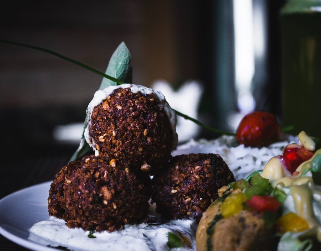 Espresso Cafe has the only - and best!- falafel in town!